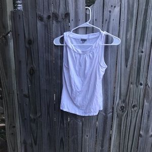 Ann Taylor MP white tank top